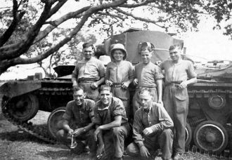 Duke of Wellington Tank SEAC Burma
