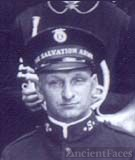 Arthur Noble in Salvation Army Band