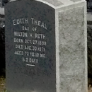 Edith (Roth) Theal tombstone