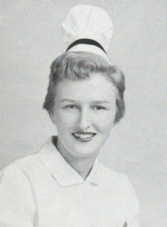 Joyce Irene Noble, 1955