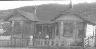 Lettie (Mead) & Edwards Evans, 1904