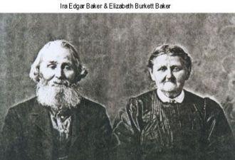 Ira Edgar & Elizabeth Burkett BAKER