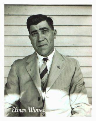 A photo of Elmer A.  Wimer