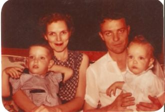 Beryl and Ray Shepard and 2 Children