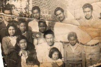 Familia Juárez en 1965
