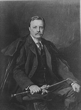Teddy Roosevelt, Painting