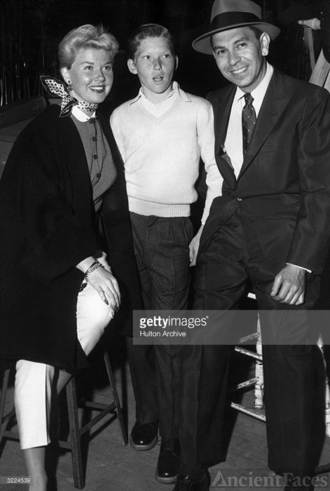 Terry Melcher, Doris Day and Jack Webb