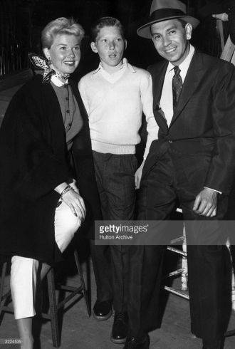 Terry Melcher, Doris Day and Jack Webb