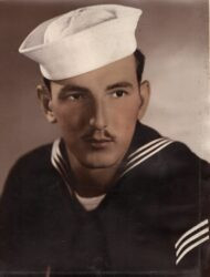He served in the Navy.