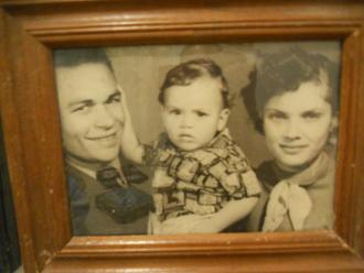 Abuelo with Tio Robert? & Abuela