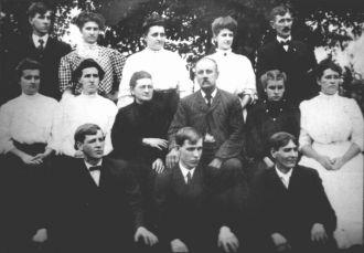 Enos S. Krauss Family