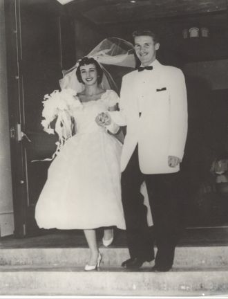 Dick and Marguerite Goyne