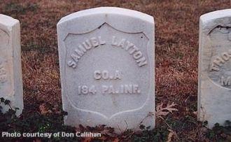 Samuel Layton 1832-1864