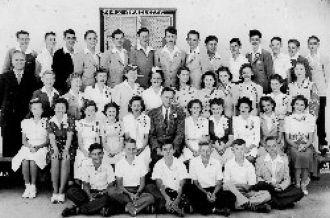 Rio Linda, CA Elementary School Graduation 1942