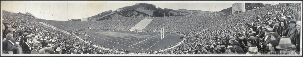 The 1930 Big Game - Cal v Stanford