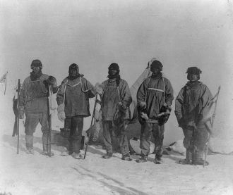Camp at the South Pole