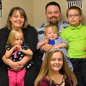 Steven James Wolf family