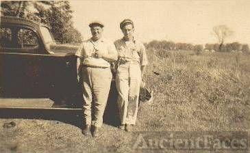 My father Tony Szabo and Bill Salchert