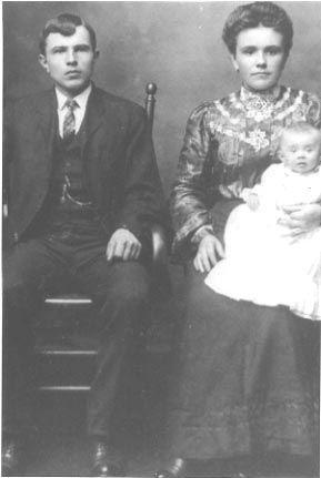Grandfather John Bohn, Anna E. & Betty Bohn