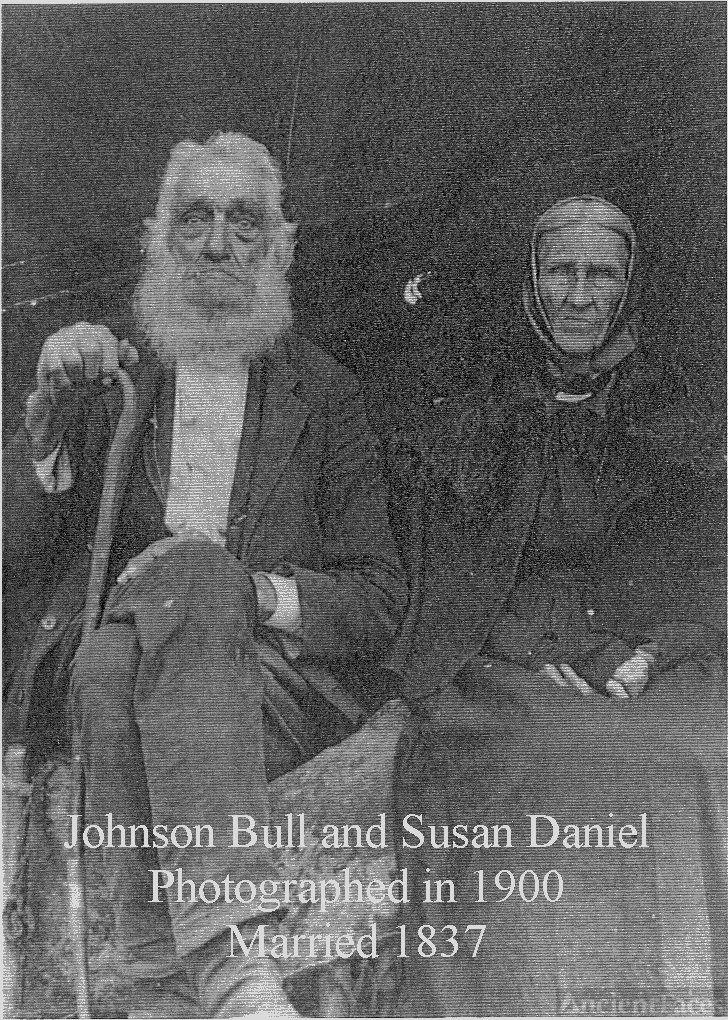 Johnson and Susan Daniel Bull