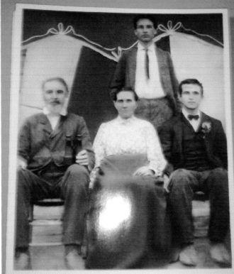 John Gilbert Pitts Family