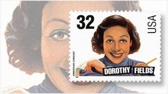 Dorothy Fields postage stamp