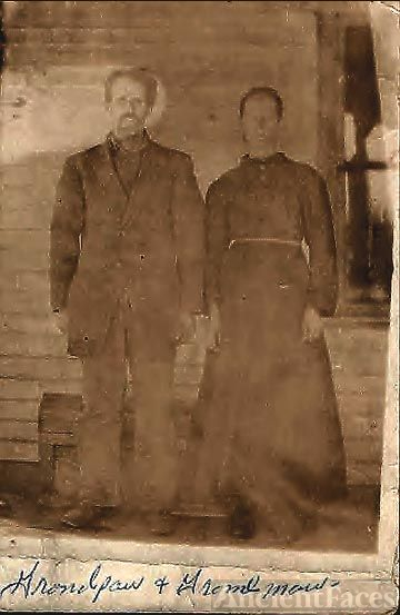 Grandpa & Grandma Pelfrey