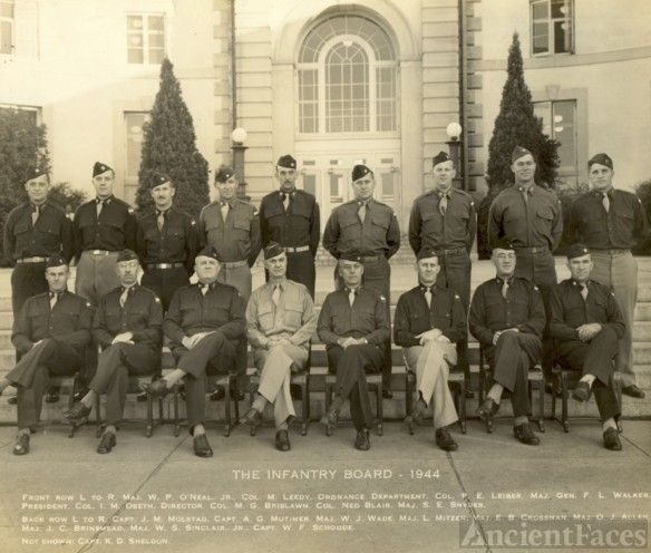 Infantry Board, Ft. Benning, GA, 1944, WWII