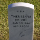Theresa M Lee Gravestone