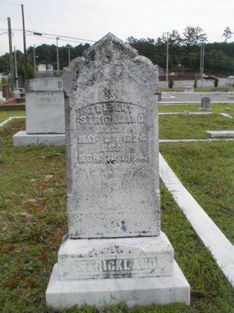 Tolbert Strickland Gravesite