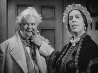 Edna May Oliver in David Copperfield.