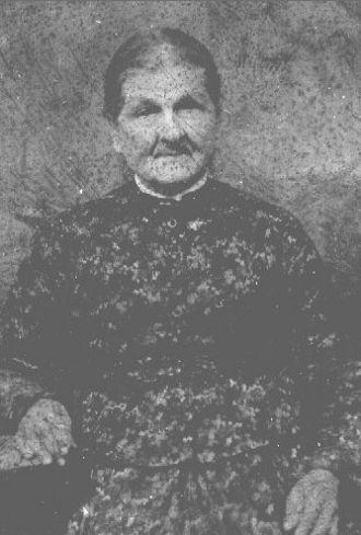 Racheal (Brashier) Dunkin, Alabama 1899