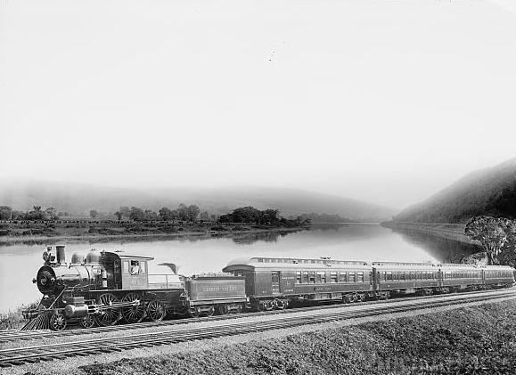 Lehigh Valley Railroad train