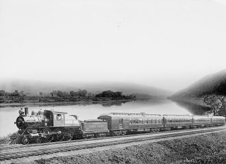 Lehigh Valley Railroad train