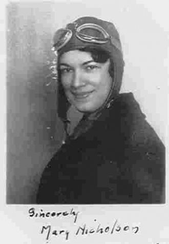Mary Webb Nicholson, World War II Vet