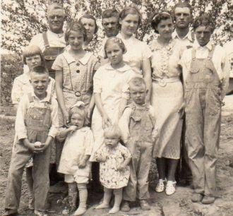 Paul Lincoln Phillips family