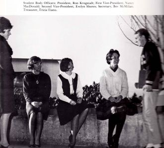 Student Body at Evergreen High School 1965