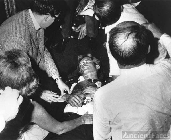 Robert F. Kennedy Shot