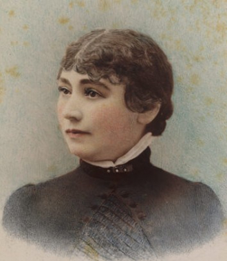 A photo of Sarah Winchester