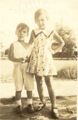 Lorraine and Sonny Lucas abt 1935