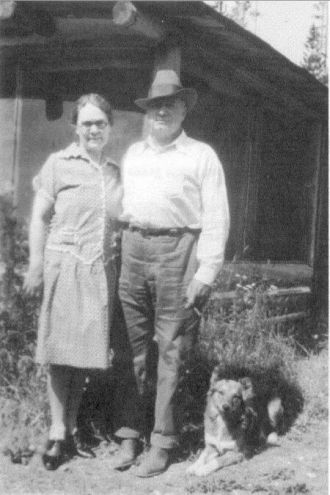 Edward & Lettie (Mead) Evans, Montana 1929