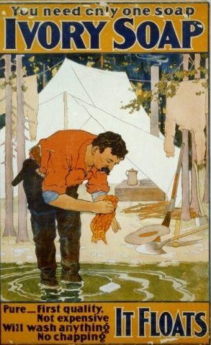 Ivory Soap Advertisement 1898