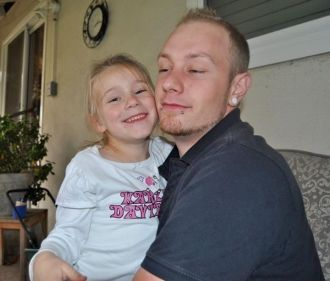Taeler Polonus & child