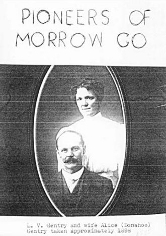 L.V. and Alice (Donahoo) Gentry, 1898