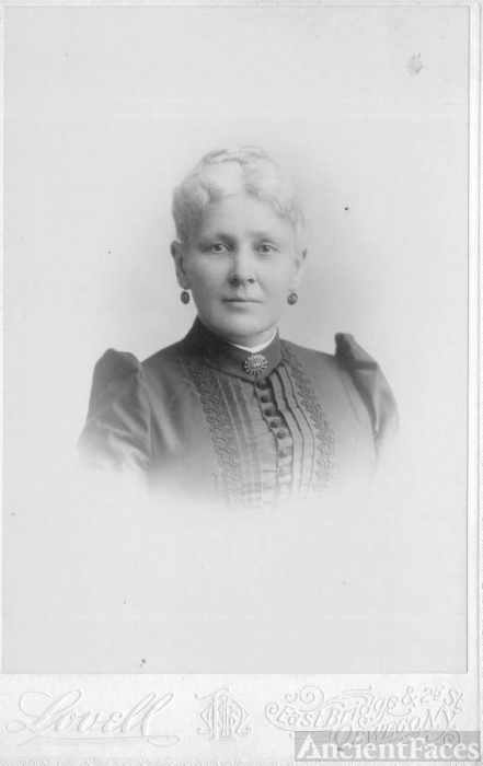 Angelica S. Hines in 1894