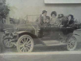 Olive Meek & Charles Shinn Families, OR