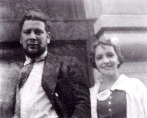 Peter Ustinov and Amanda S. Stevenson