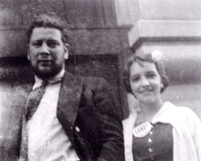 Peter Ustinov and Amanda S. Stevenson