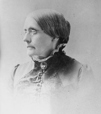 Susan B. Anthony, 1800's