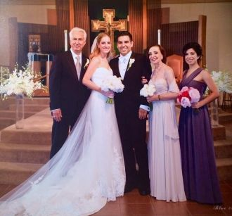 Janita Camille Russo, wedding